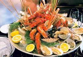 buffet la mer restaurant la table du cantemerle à vence