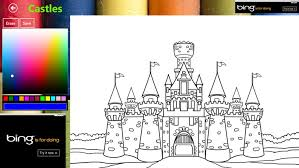 castle coloring book windows 8 apps u0026 games brothersoft