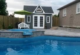 Cabana Pool House Barside Pool House Summerwood