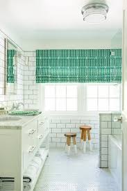 Kelly Green Door With Brass Hardware Interiors by Kelly Green Bath Vanity With Zebra Bath Mat Contemporary Bathroom