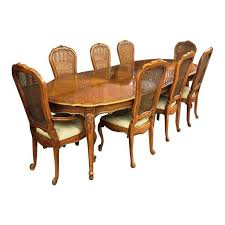 Vintage Thomasville French Court Dining Table  Chairs Set Of - Thomasville dining room chairs
