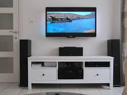 ikea hemnes tv bench unit ash brown pine throughout tv stand ikea