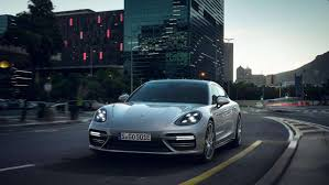 electric porsche supercar porsche panamera turbo s e hybrid packs 680 gas electric