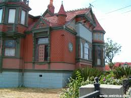 Weird House by Villa Montezuma Mansion Weird California