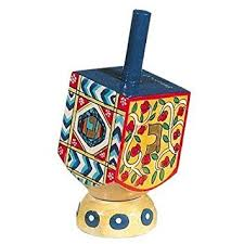 Chanukah Gifts Buy Hanukkah Dreidel Musical Snowglobe Plays Dreidel Dreidel