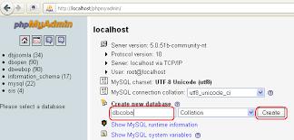 cara membuat database baru mysql cara membuat database baru di phpmyadmin