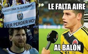 Memes De Messi - tremendos memes de la victoria de messi y argentina ante colombia