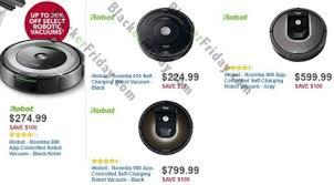 irobot roomba black friday 2017 sale deals sales 2017