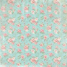 shabby chic wrapping paper flower scrapbook paper wedding paper set of custom made