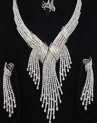 white gold necklace set images 9 best white gold jewellery designs for men and women jpg