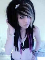 pictures of medium hair emo