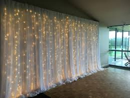 wedding backdrop lighting kit curtain backdrop design ideas icicle lights for wedding