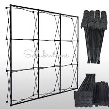 Backdrop Stand Sellabrations 3m X 3m Pop Up Display Stand Truss Backdrop Stand