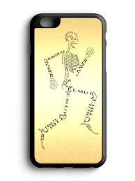 spooky skeleton png spooky bones on the run halloween cell phone case 2 colors