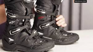 good motorcycle boots alpinestars tech 7 enduro boots review at revzilla com youtube