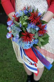 Wedding Flowers July 91 Best Red White And Blue Great British Weddings Images On