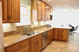 hickory cabinets with granite countertops hickory kitchen cabinets with granite countertops kitchen exitallergy