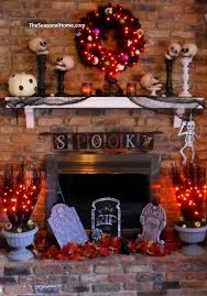 hair raising halloween mantel decorating ideas twin star home now