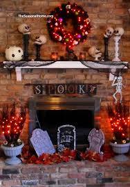 seasonal home decorations hair raising halloween mantel decorating ideas twin star home now