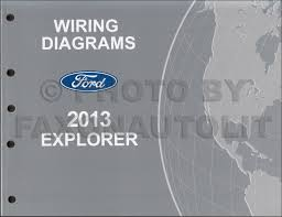 2013 ford explorer wiring diagram manual original