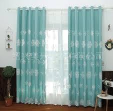 2017 snowflake blackout curtain cortinas autumn winter edelweiss