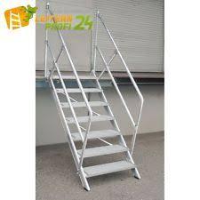 treppen angebote günzburger steigtechnik aluminium treppe 45 300351 ebay