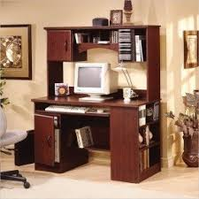 South Shore Computer Desk Wood Computer Desk With Hutch Foter