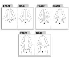 Drape Cardigan Pattern Mccall U0027s 5241