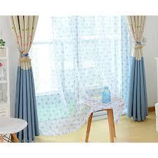White Polka Dot Sheer Curtains White Baby Blue Yarn Polka Dot Sheer Curtains