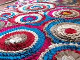 Wool Felt Rugs Custom Made Felt Rugs And Carpets Felt Ball Rugs Frickle Rug