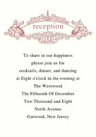 sle of wedding reception program wedding reception program exles wedding ideas 2018