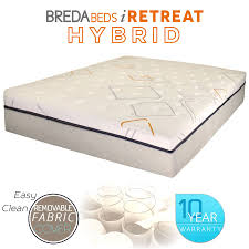 iretreat mattress mattress hybrid bredabeds