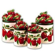 274 best kitchen canisters bread boxes cake carriers images on