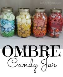 Diy Mason Jar Christmas Ideas by Diy Ombre Candy Jar Mason Jar Gift Idea Free Printable Tags