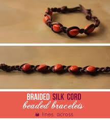 braided bracelet with beads images Braided bead bracelets lines across jpg