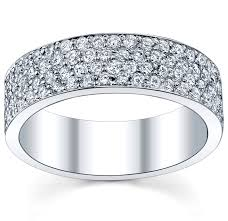 eternity wedding bands micro pave eternity band