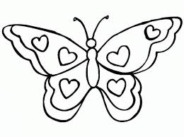 butterfly coloring images animal page book of aksfm