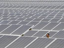Solar Plant Lights by India Building World U0027s Largest Solar Plant Business Insider