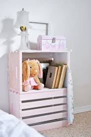 Bedside Table Ideas by 25 Best Crate Side Table Ideas On Pinterest Crate Table Crate