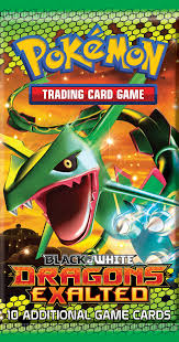 dragon type pokémon debut in dragons exalted expansion