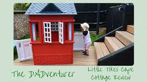 little tikes cape cottage outdoor playhouse review youtube