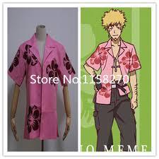 Meme Oshino - monogatari meme oshino shirt cosplay costume in boys costumes from