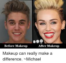 Before And After Meme - before makeup after makeup makeup can really make a difference