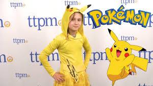 pokemon pikachu girls costume from rubies costumes youtube