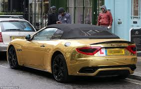 owns maserati drives around with l plates on his maserati