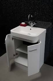 Corner Vanity Units With Basin Curved Sink Vanity Unit Burlington 134 Curved Vanity Unit With