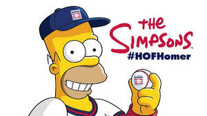 homer simpson homer simpson spills all about the baseball hall of fame in