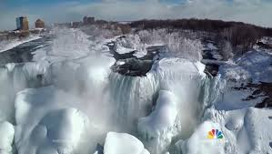 epic drone video frozen niagara falls droneblog