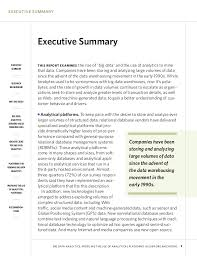 Sample Resume Executive Summary by Mapsingen Executive Summary Examples