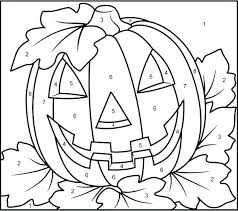 coloring pages color by number color by number thanksgiving pictures